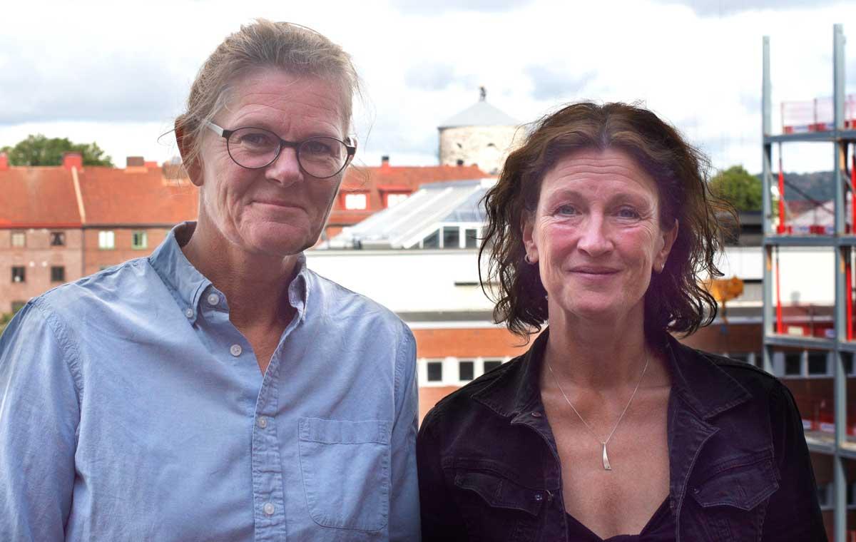 Magdalena Jämtheden och Helena Molker-Lovén