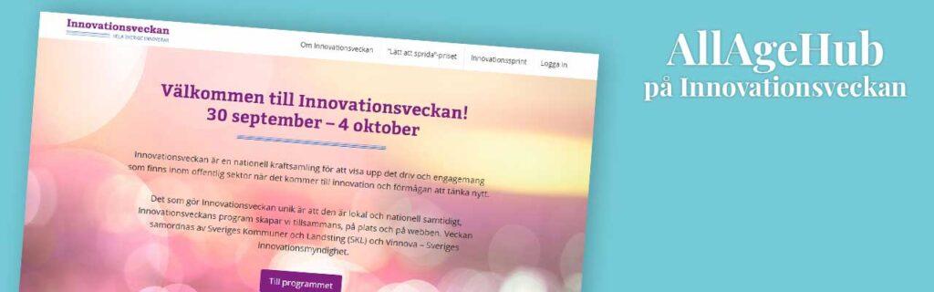 AAH på innovationsveckan