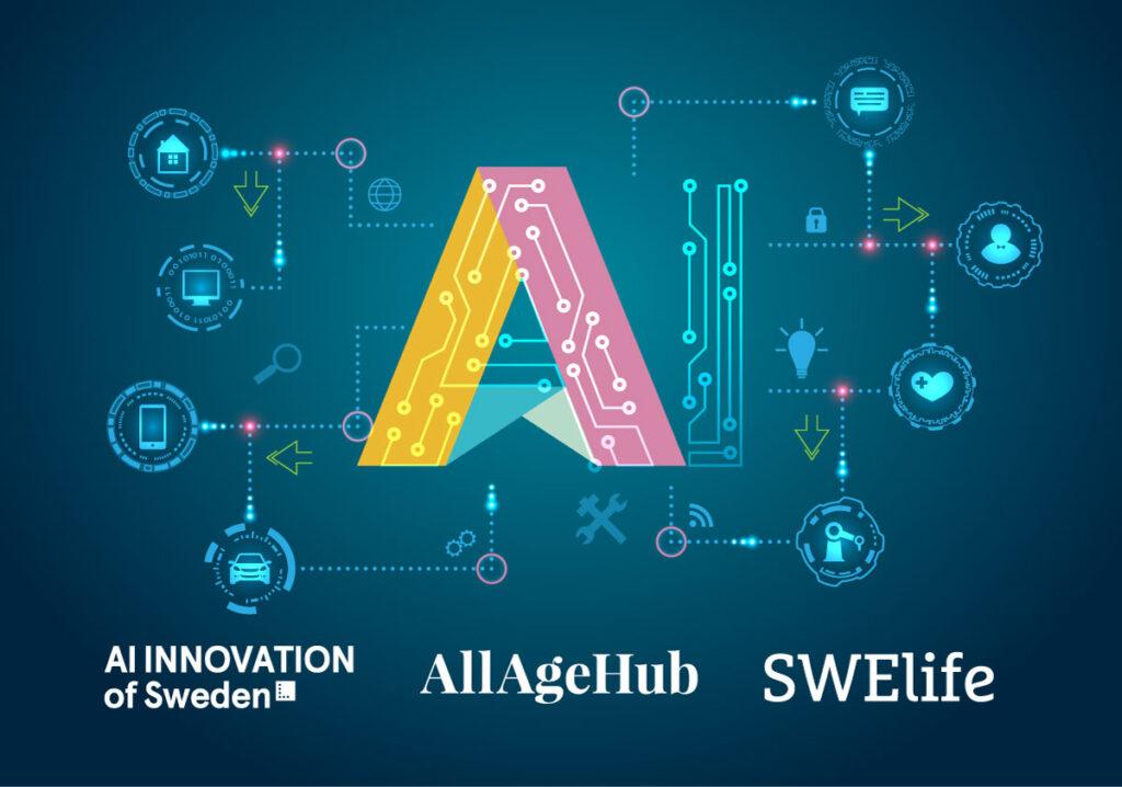 Illustration för AI-konferens