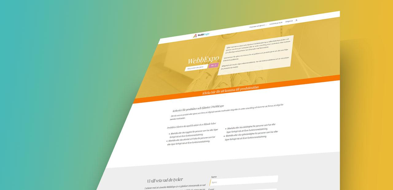 Lansering av WebbExpo