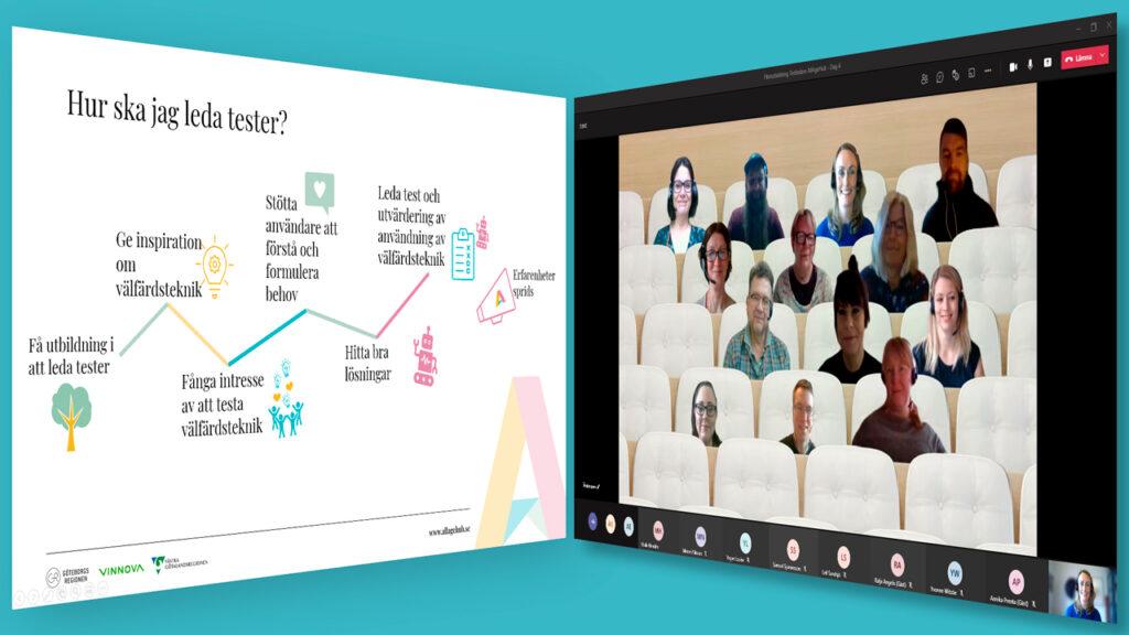 Bild som illustrerar den digitala utbildningen till testledare